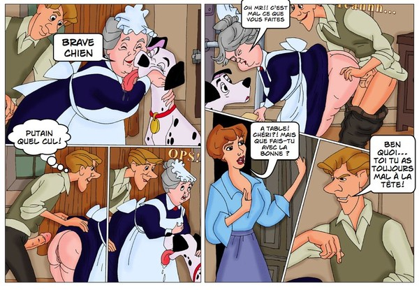 Super bande dessinée de porn disney